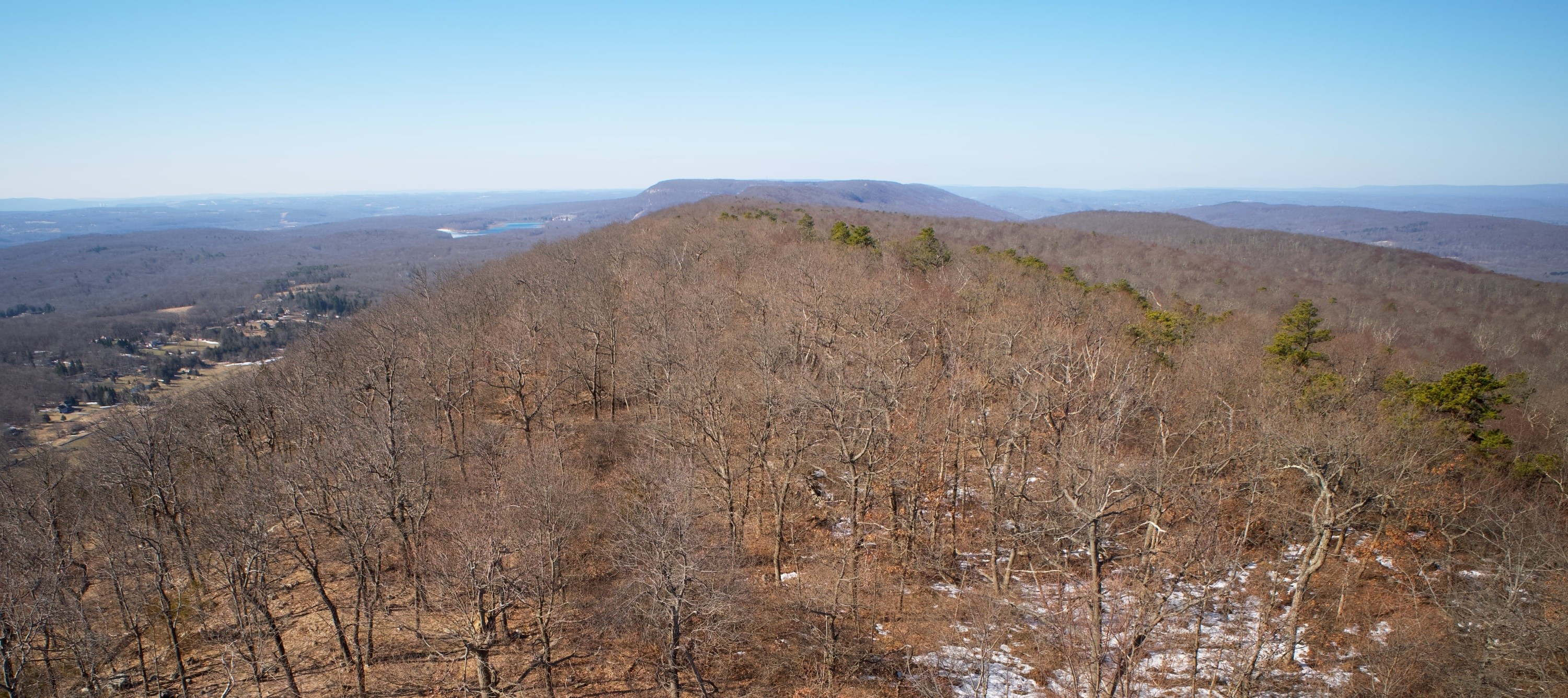 View south from Catfish Fire Tower