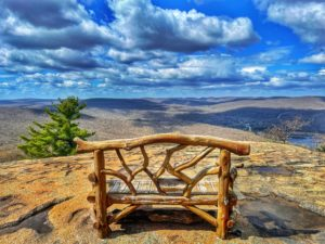 View of Harriman State Park from the