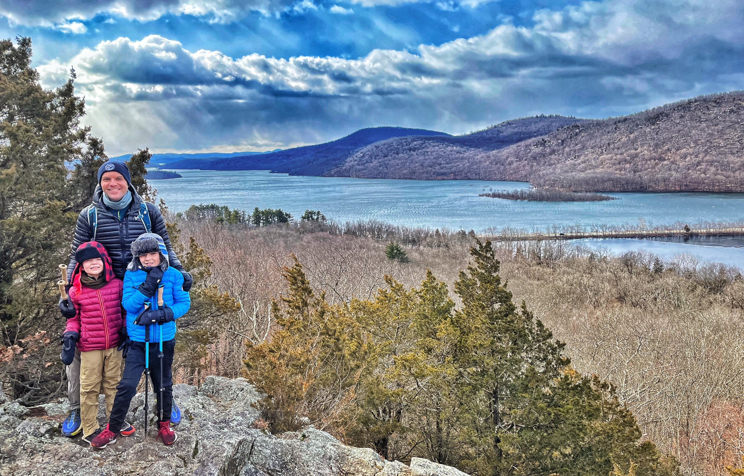 View of Wanaque Reservoir from Governor Mountain