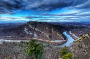 Mt. Tammany is the top hiking trail in New Jersey