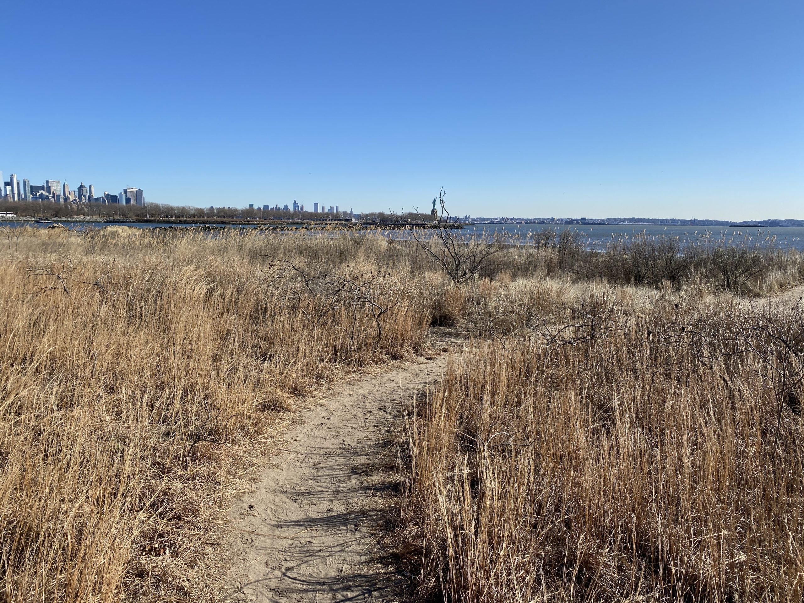 Caven Point trail to the beach