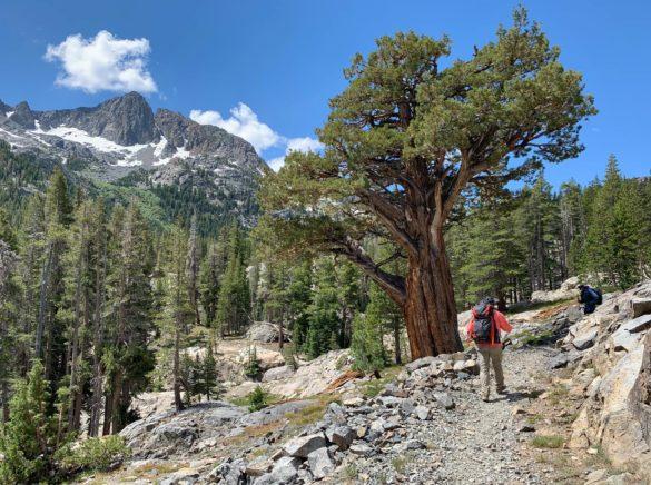 On the trail before Garnet Lake